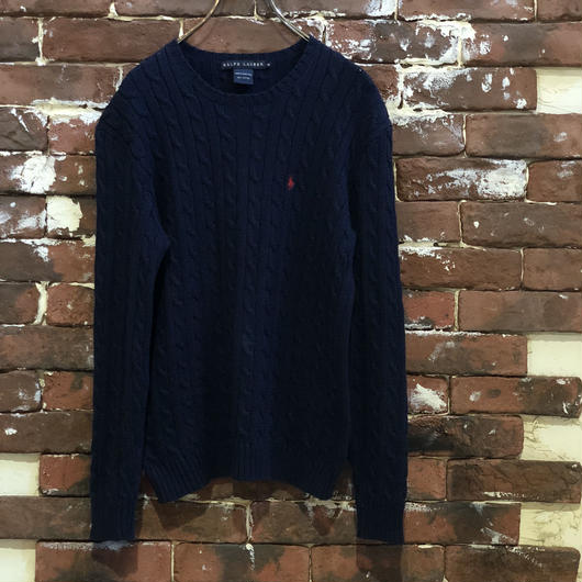 RALPH LAUREN LADIES COTTON KNIT