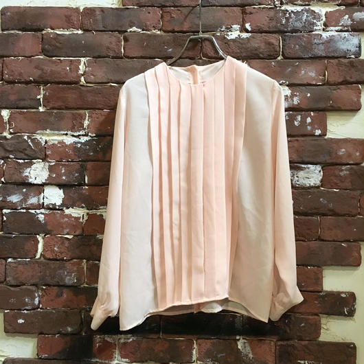 LADIES VINTAGE POLY BLOUSE