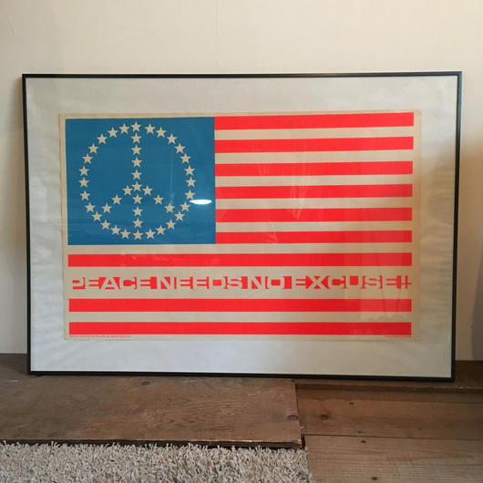 70'S STAR AND STRIPES POSTER