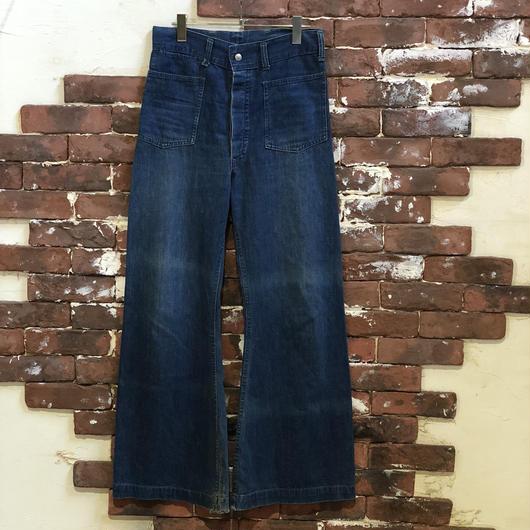40-50s DENIM FLAIR PANTS