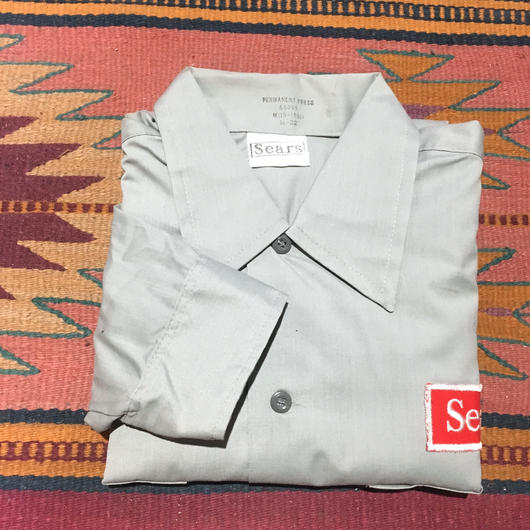 SEARS WORK SHIRT DEAD STOCK