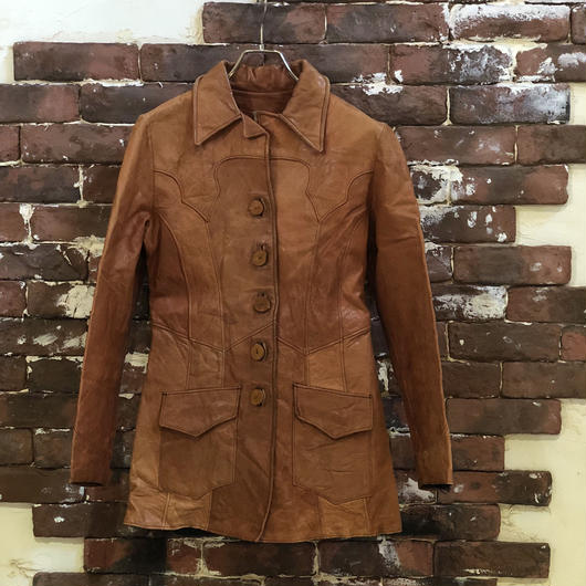 70s M&H LEATHER JACKET
