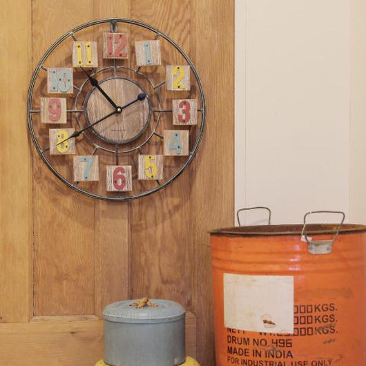 車輪みたいな時計【YONGA CLOCK】ヨンガ クロック