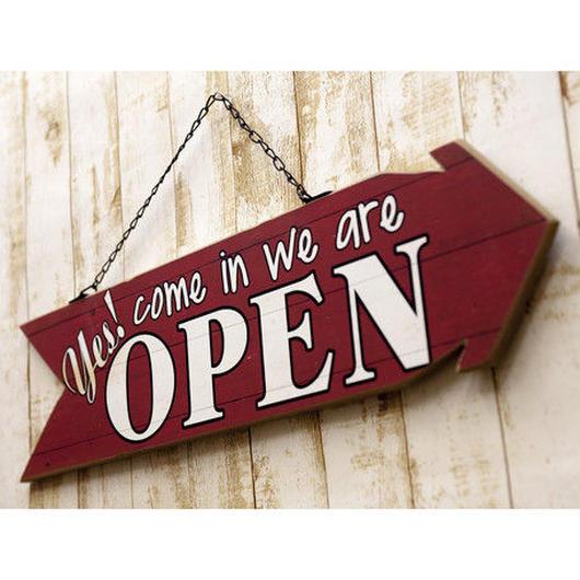 """Bothプレートアロー """"Open&Close"""""""