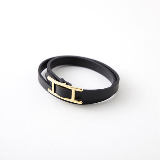 Leather  Bracelet /black