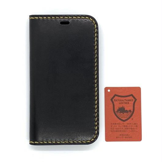 iPhone XS・X ケース【手帳タイプ】ブラック