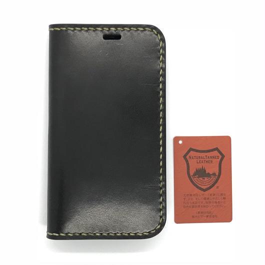 iPhone XS・X ケース【手帳タイプDX】ブラック