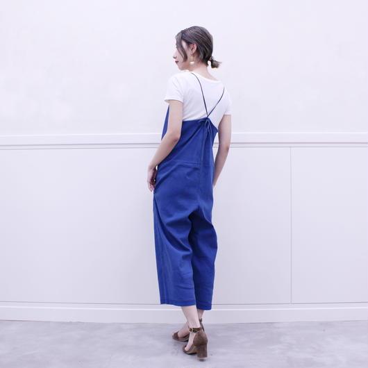 #Tシャツのためのキャミサロペット 品番:1117007 カラー:ナイト