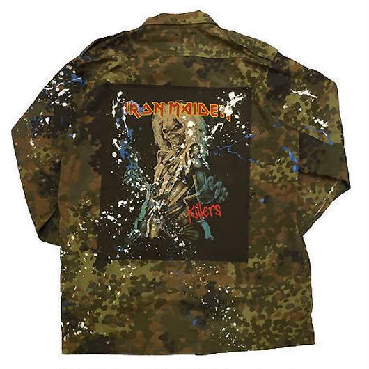 Band Tee remake shirt 【camo】(killers)