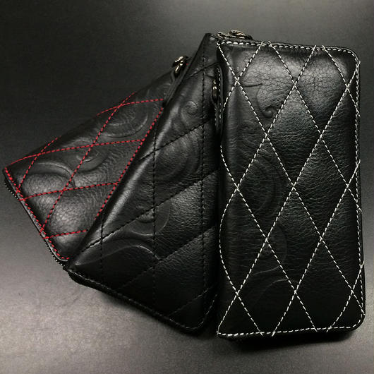 DIA Stitch Leather Wallet