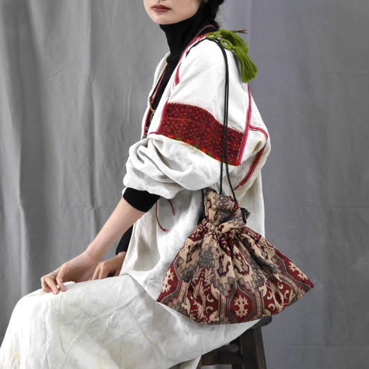 kinchaku  bag PATTERN R