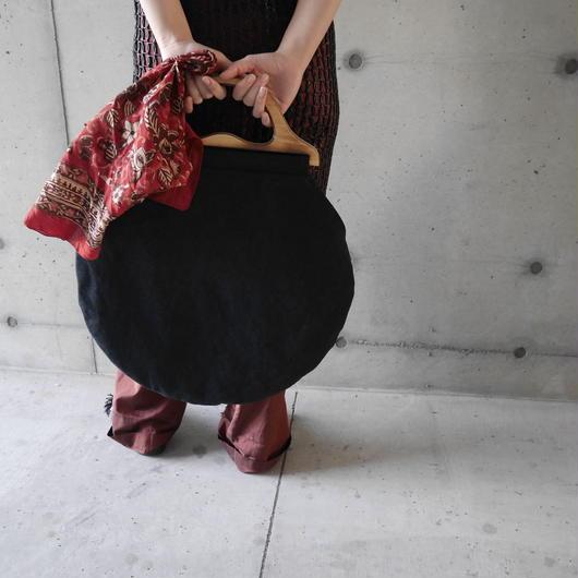 circle large bag BLACK