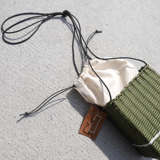 SHIKAKU bag OLIVE