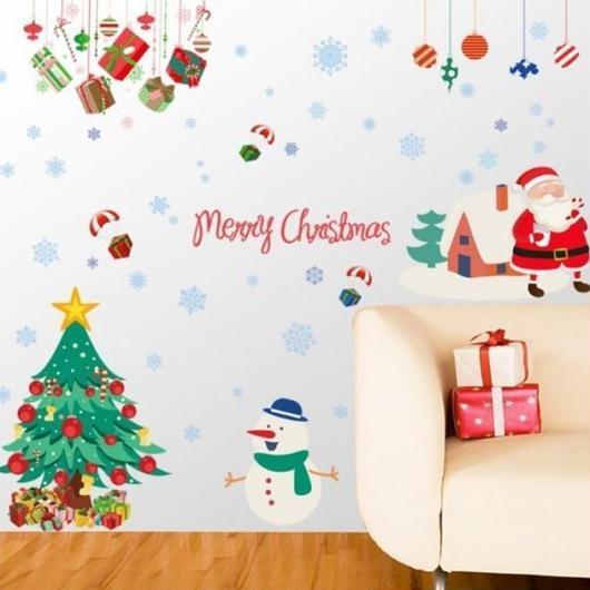 ウォールステッカー クリスマス クリスマスツリー おしゃれ【お取り寄せ】