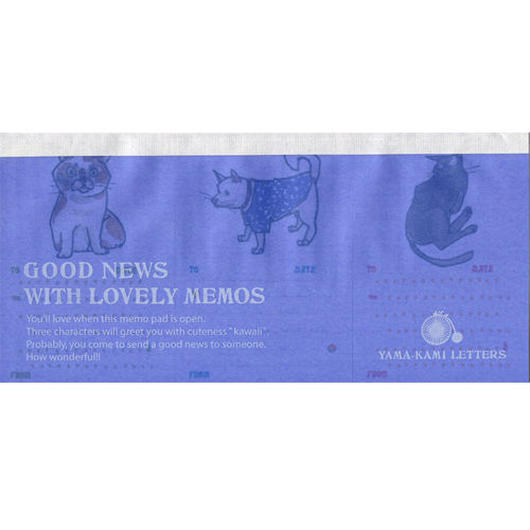 GOOD NEWS WITH LOVELY MEMOS O-Y07