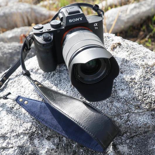 YAMAP オリジナル レザーカメラストラップ *安心の交換・返金保証付き