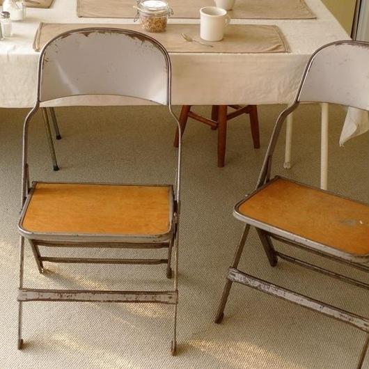 CLARIN Metal Folding Chair