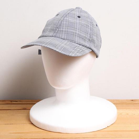 [18 S/S 予約商品] GLEN CHECK SUN VISOR CAP