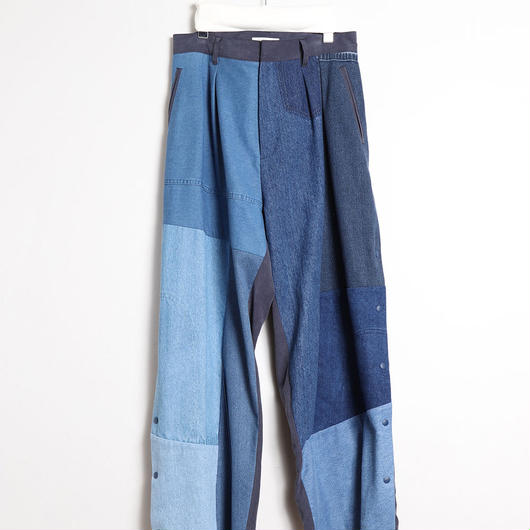 [18 S/S 予約商品] DENIM SIDE OPEN PANTS