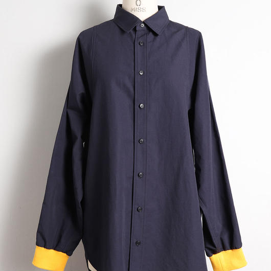 [18 S/S 予約商品] WIDE SLEEVE SHIRTS (LINE TAPE)