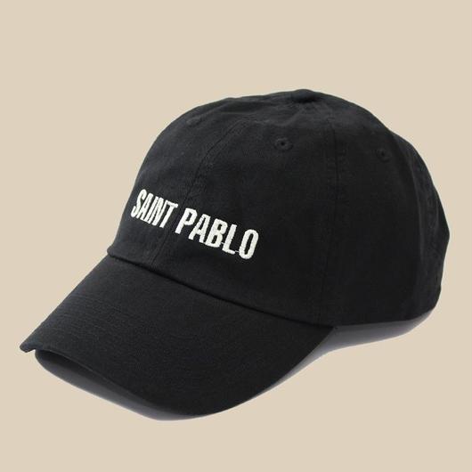 「SAINT PABLO BLACK CAP」 / BLACK(送料込み)