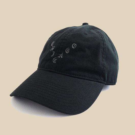 「CHICAGO BLACK HAT」 / BLACK (送料込み)