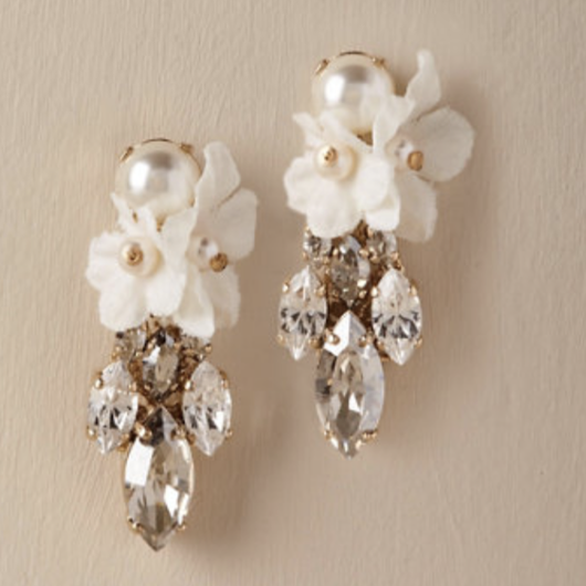 BHLDN Orchid Waterfall Earrings《送料込》