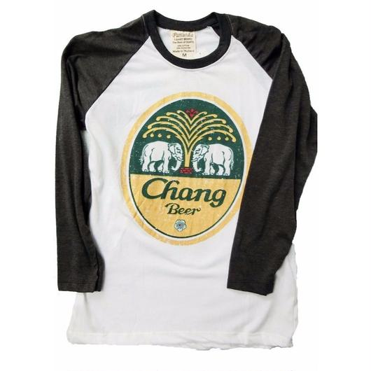ビアチャーンロングTシャツ ラグラン袖全6色