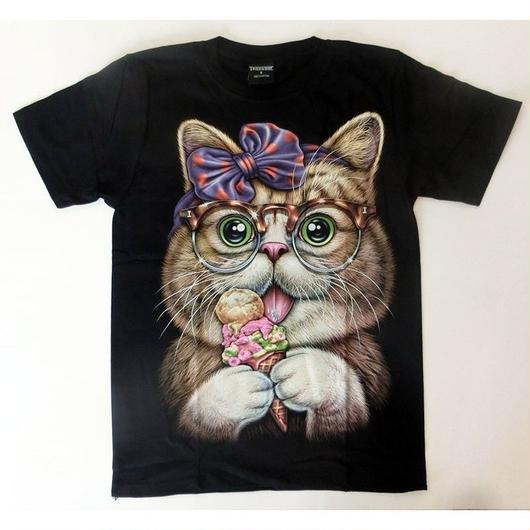 ねこTシャツアイス