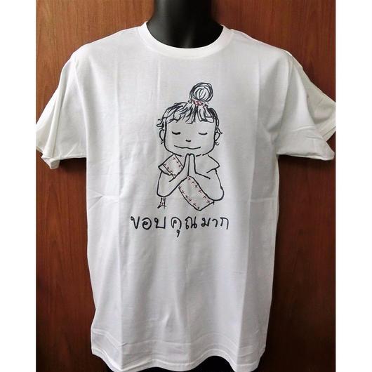 オリジナルTシャツ タイの少女