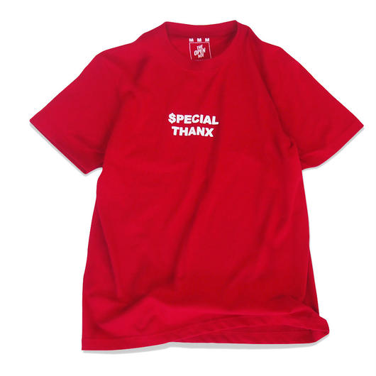 $pecial Thanx. Tee  Red