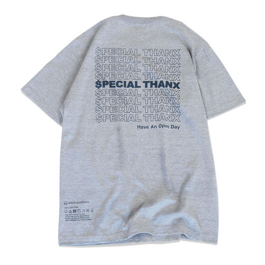 $pecial Thanx. Tee  Grey