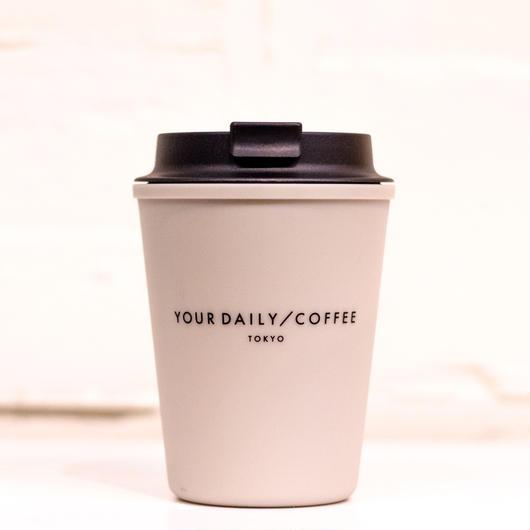YOUR DAILY COFFEE別注 オリジナルウォールマグスリーク ベージュ