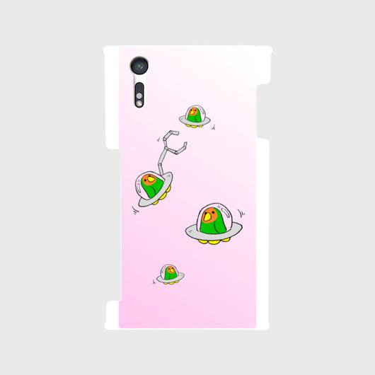 【Android】こざくらUFOスマホケース[sakura]【送料無料】