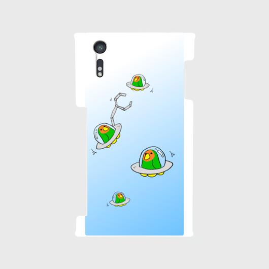 【Android】こざくらUFOスマホケース[空]【送料無料】
