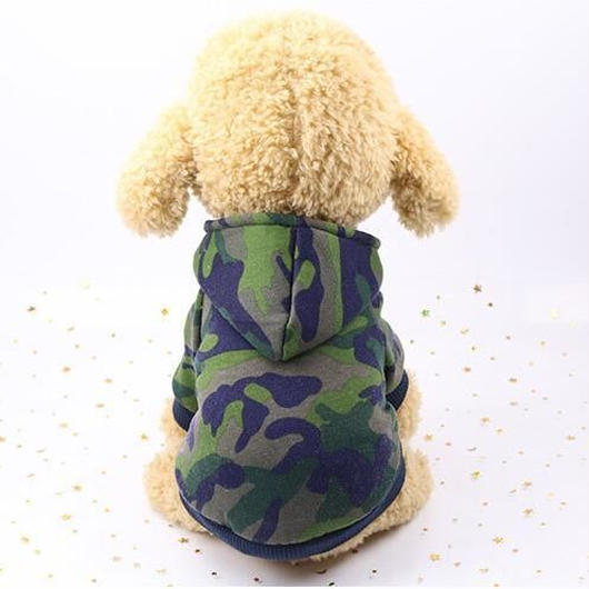 犬服 ペット服 ハロウィン 迷彩柄 3色 冬 ペット用品