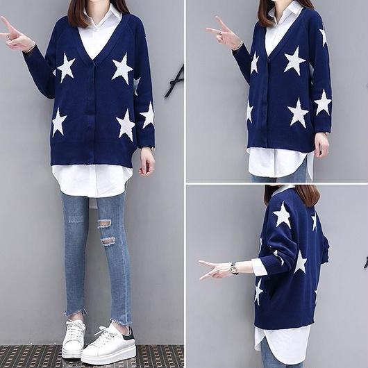 大きいサイズXL-4XL】【秋冬新作】ファッションセーター