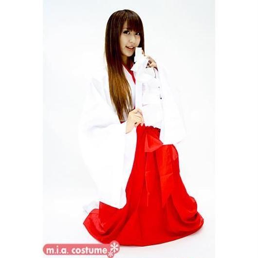 トキメキ巫女さんパラダイス 色:赤/白 サイズ:M/BIG