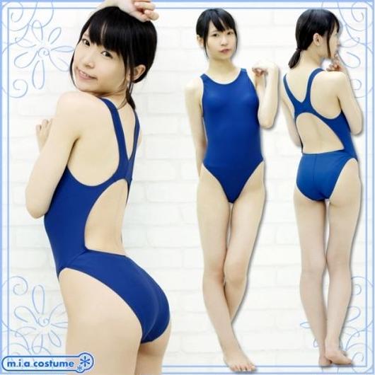 競泳水着 色:紺
