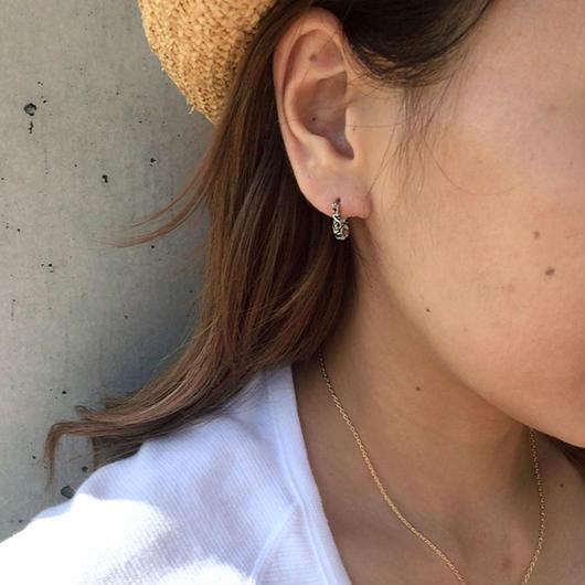 【印象的な耳元に】カッコ良く見せる☆ 片耳トライバルフープピアス