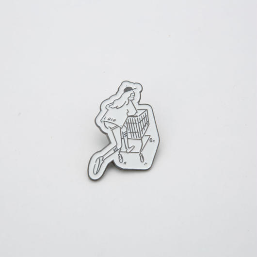 "Pins ""Shopping Girl"""