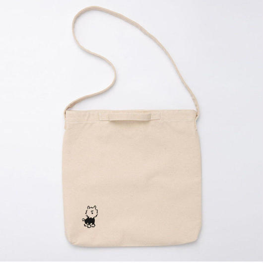 "2WAY Tote bag ""Dog"""
