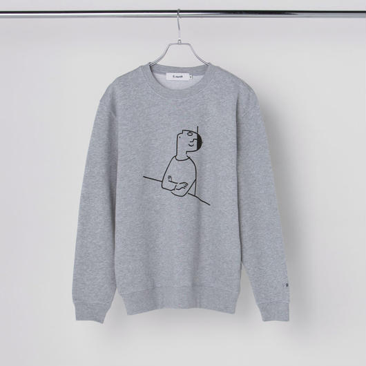 "Sweatshirt ""I DID"" Gray"