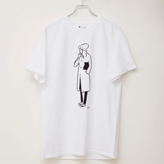 T-shirt Girl00 Champion body