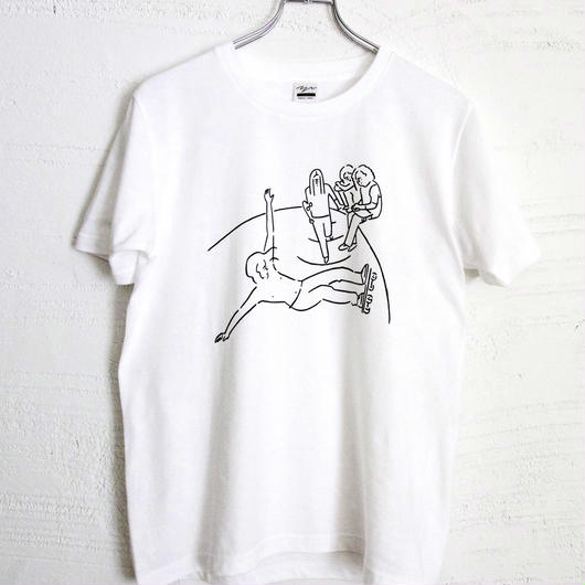 T-shirt Dogtown - White -