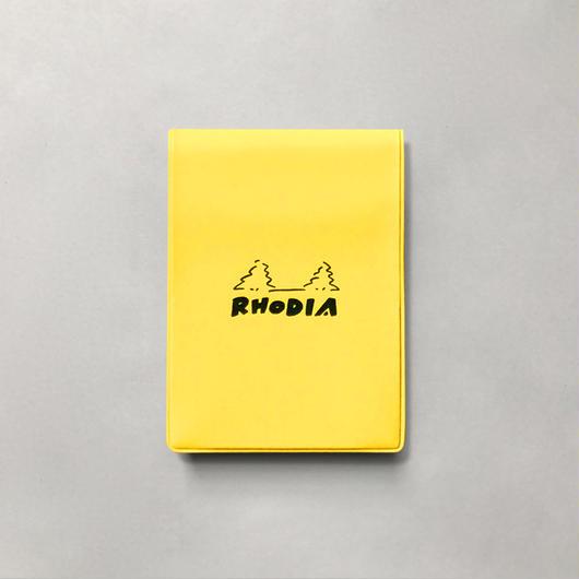 RHODIA ブロックロディアNo.11&カバー yellow