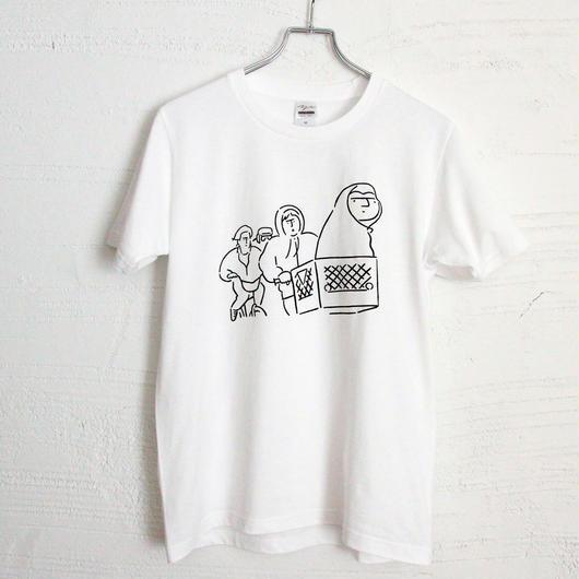 T-shirt E.T. - White -