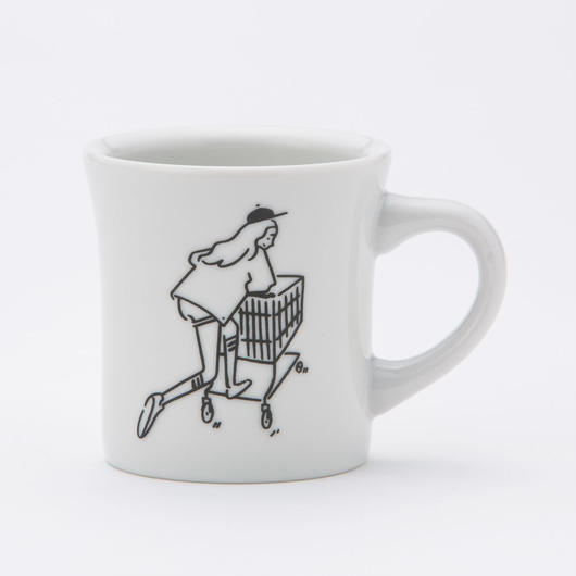 "Mug ""Shopping Girl"""