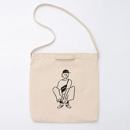 "2WAY Tote bag ""Girl04"""