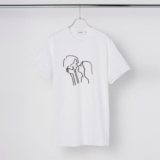 "T-shirt ""Kiss"" White"